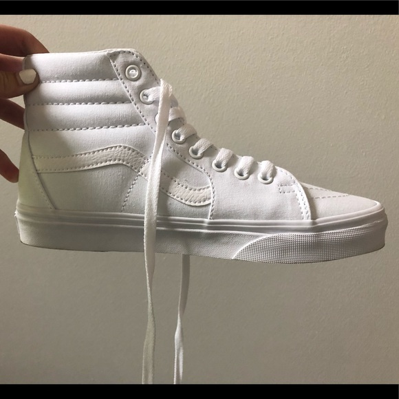 Vans Shoes   Brand New High Top White